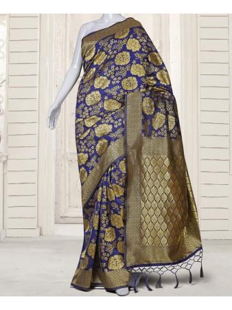 RE - Pleasing Blue kotasilk saree